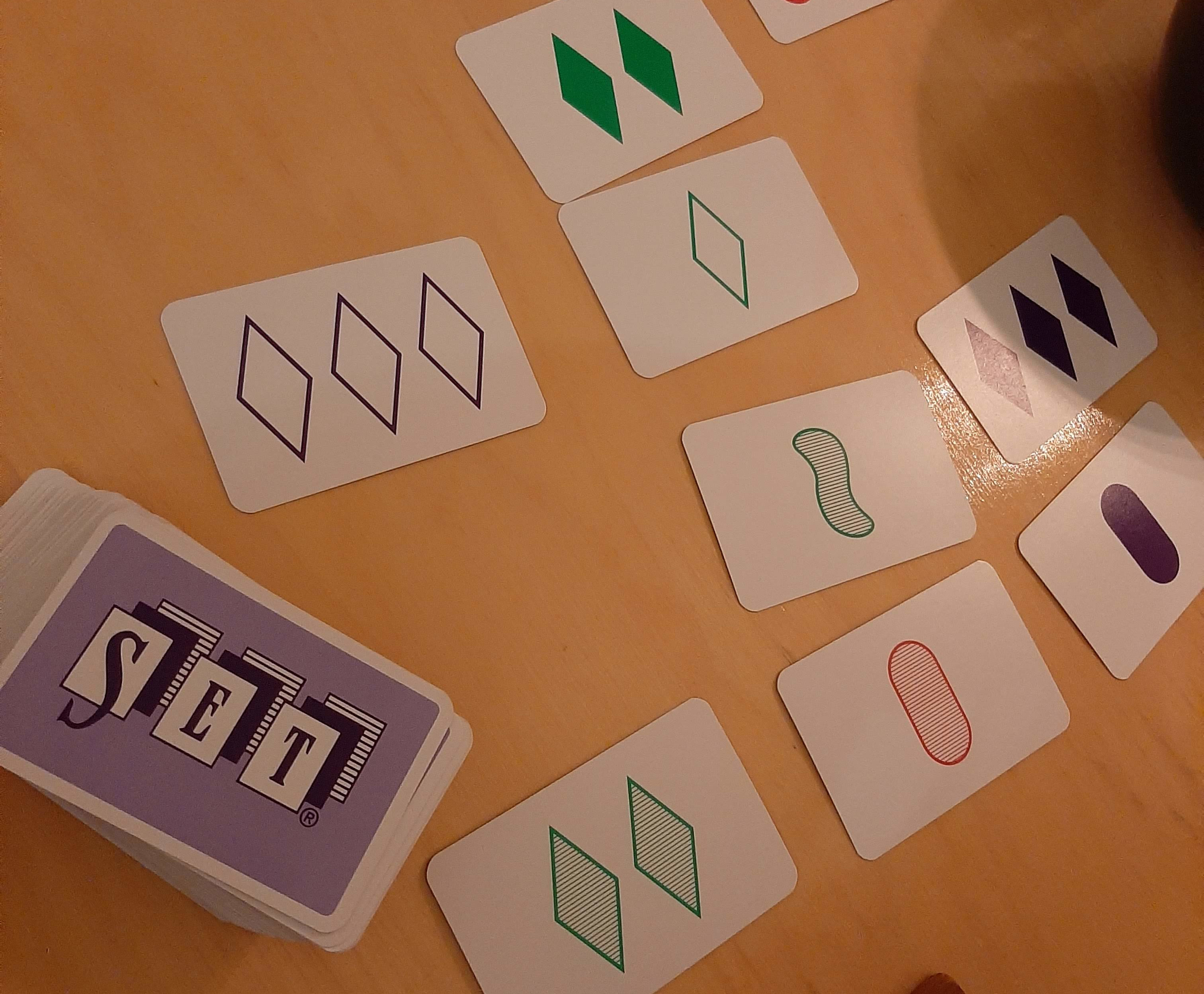 Image of the card game Set